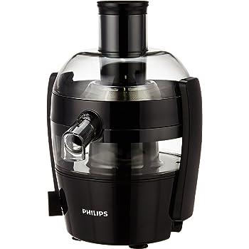 Philips Viva Collection HR1832/00 1.5-Litre Juicer, Ink Black