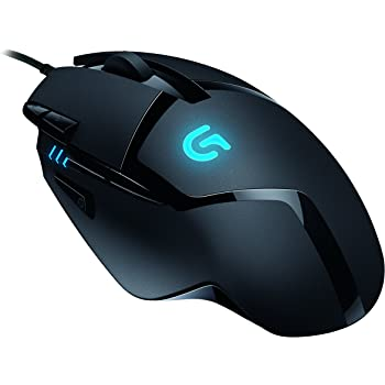 efc1e647b1d Logitech G402 Gaming Mouse Hyperion Fury with 8 Programmable Buttons, 3600  dpi Optical Sensor - Black