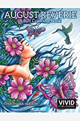 August Reverie: Adult Coloring Book Broché