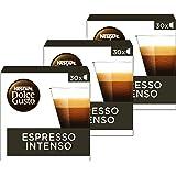 Nescafé Dolce Gusto capsules Espresso Intenso - voordeelverpakking - 90 koffiecups - geschikt voor 90 koppen koffie - Dolce G