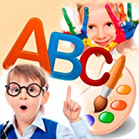 Funny Letters. Drawing and writing Letters. Multilingual ABC. Preschool for Kids