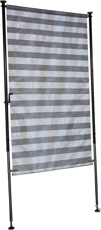Amazon Angerer Balkon Sichtschutz Nr 3800 grau 120 cm breit