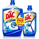 Dac Disinfectant Gold Floor Cleaner - Ocean Breeze, 3L + 1L