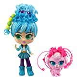 CURLIGIRLS - Collectable Pet Dolls - Adeli & Fiji - Magic Hair for Infinity Hairstyles - Girl Toy Gift - Accessories…