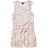 Tommy Hilfiger Girls Romper, Cinched Tie Waist & Pull-On Style