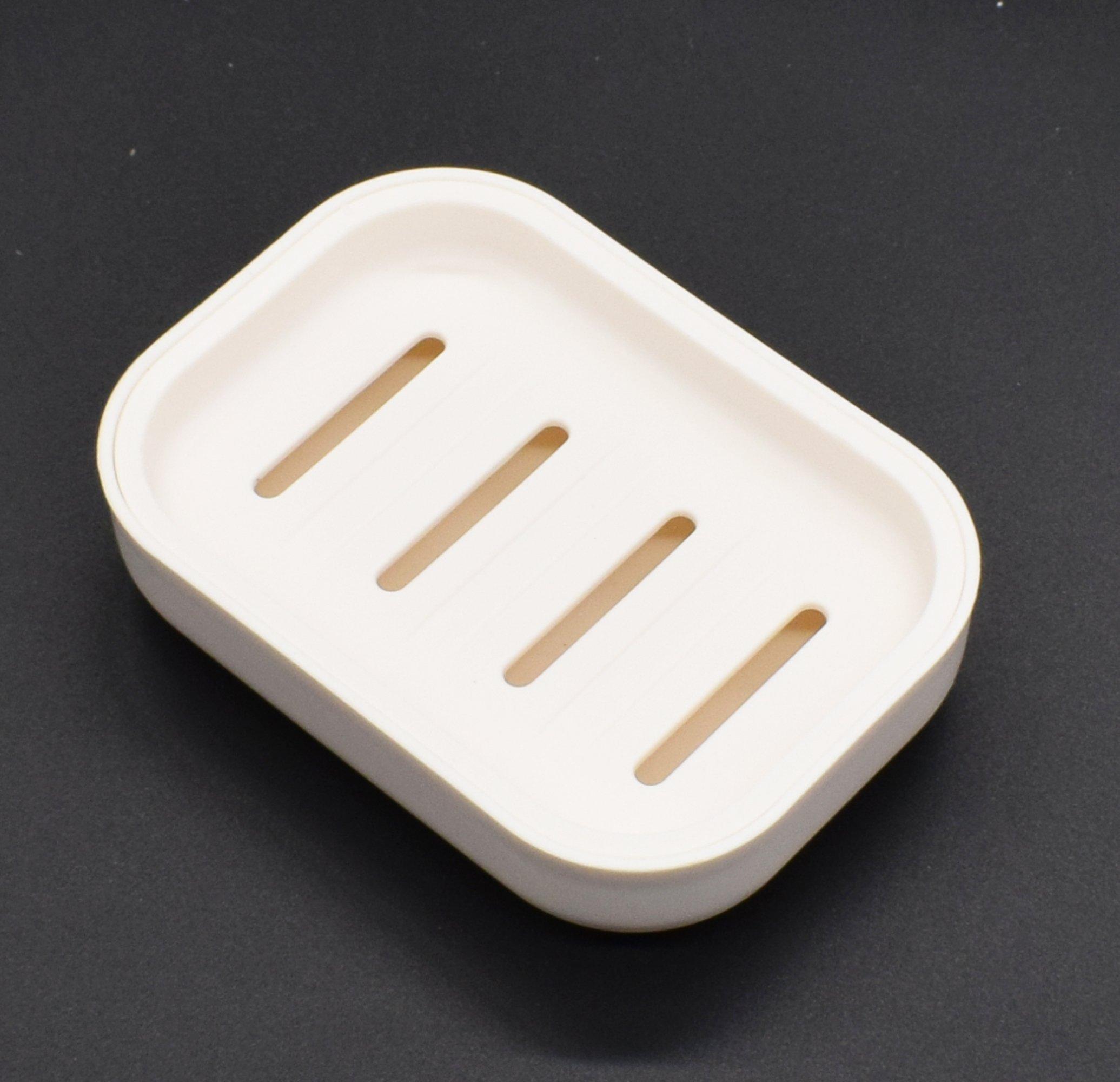 per bagno e cucina White Aixin Portasapone moderno in plastica