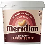Meridian Smooth Cashew Butter 1kg - Vegan, Free From Palm Oil