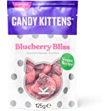 Candy Kittens Blueberry Bliss Vegan Sweets - Palm Oil Free, Natural Fruit Flavour Candy - Gummy Chewy Gourmet Sweets, 125g (S