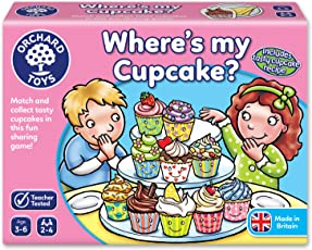 Orchard Toys Where's My Cupcake, Multi Color