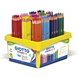 Giotto Schoolpack 526600 Buntstifte, 192 Stück
