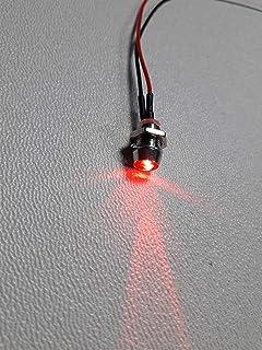 10 Stück LED verkabelt rot blau blink 3mm Vorwiderstand Beleuchtung Modellbahn