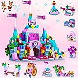 COOLJOY Classici 633012 Set di Costruzioni, 567 Pezzi Castello Giocattolo da Costruzione Castle STEM Kit di Costruzione Gioca