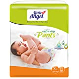Little Angel Baby Diaper Pants, X-Large (56 Count)