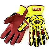 Dickies GL01SG GR XXL Size 2X-Large HD Super Grip Impact Gloves Green
