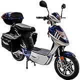 Rolektro eco-City 45 V.2 Plus Elektroroller 45 Km/H Straßenverkehrszulassung 500W entnehmbarer Akku
