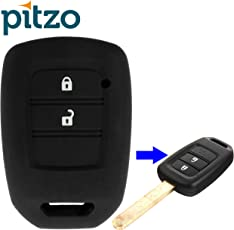 Pitzo Pit 314_BK Silicone Car Key Cover (Black)