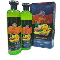 Hair Black Colour Gel   Colour Expert - Mix Fruit Vinegar (500g*2)