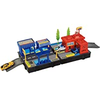Toyshine City Play Set Track Set with 2 Cars, Accessories