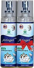 Aringel Anti Mosquito Spray (Pack of 2, 200ml) Mint