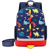 Cosyres Dinosaurios Mochila para Niños Infantil Guarderia Mochila Escolar (Azul Oscuro(Talla:L))