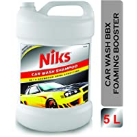 Niks Car Wash Foaming Shampoo - 5 Ltrs. Premium quality With extra Thickness Formula- PH Neutral