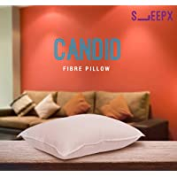 SleepX Candid Soft Fibre Pillow for Ideal Neck Comfort