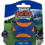 Chuckit Ultra Squeaker Ball, Small, 1 pack, multi