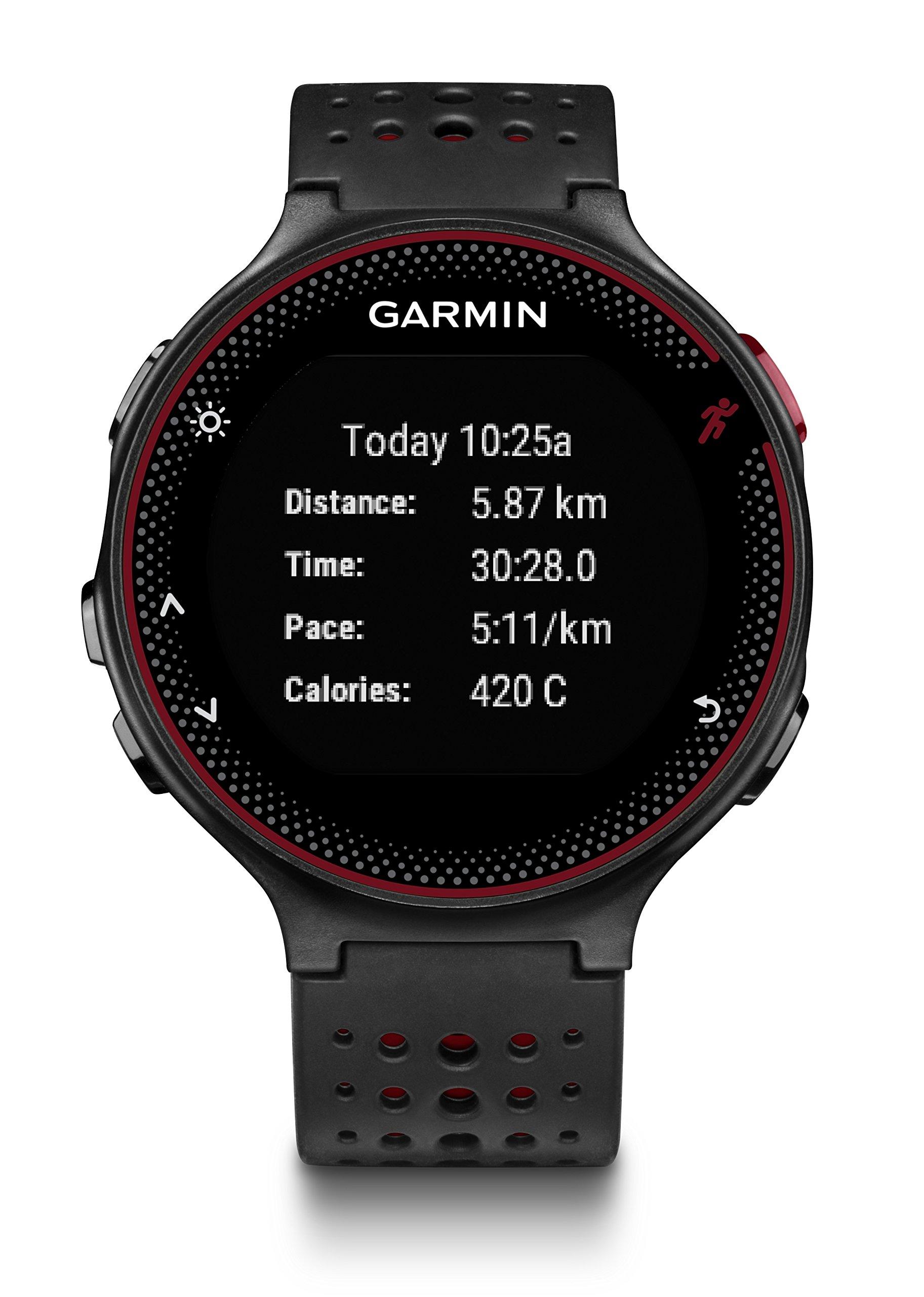 Garmin Forerunner 235 – Reloj con pulsómetro en la muñeca, Unisex,