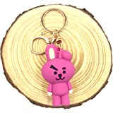 Good Goody BT21 BTS Cooky Character (Pink) Keyring Mascots Friends Kpop | Tata, Mang, RJ, Cooky,Shooky, Koya, Chimmy…