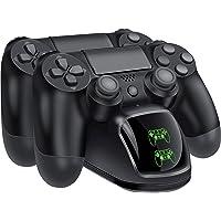 BEBONCOOL Caricatore Joystick PS4, Carica Joystick PS4 Controller Stand con Display LED di Ricarica, Base Ricarica…