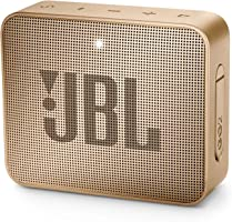 JBL Go 2 Portable Bluetooth Waterproof Speaker (Champagne), 184 Gm, JBLGo2Cpn
