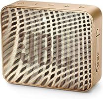 JBL GO 2 Portable Bluetooth Speaker, Champagne - JBLGO2CHAMPAGNE