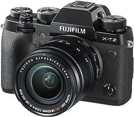 Fujifilm X-T2 Mirrorless Digital Camera with 18-55mm F2.8-4.0R LM OIS Lens