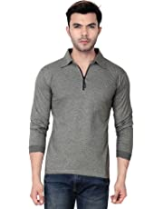V3Squared Men's Cotton Full Sleeve Cotton T-Shirt