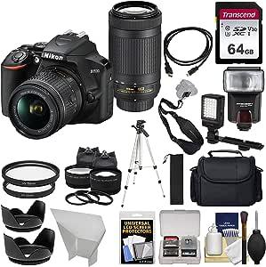 Nikon D3500 Digitale Spiegelreflexkamera Und 18 55 Mm Kamera
