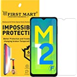 FIRST MART - A BRAND WORTH REMEMBERING Screen Protector Compatible for Samsung Galaxy M12 / F12 / F02s / M02s / A12 - Impossi