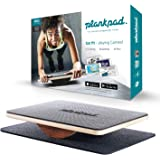 "plankpad - Full-body fitness trainer with training app for iOS and Android - Innovative balance board from ""Shark Tank"" Tv Sh"