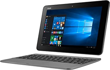 Asus Transformer Mini T101HA-GR030T 25,7 cm (10,1 Zoll Touch) Convertible Tablet-PC (Intel Atom x5-Z8350, 4GB RAM, 128GB eMMC, Intel HD Graphics, Win 10 Home) grau