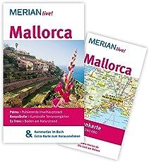 MERIAN live! Reiseführer Mallorca: MERIAN live! - Mit Kartenatlas im Buch und Extra-Karte zum Herausnehmen