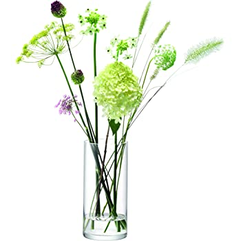 Lsa International Column Vase H28 X 13cm Clear Amazon