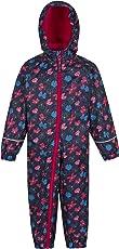 Mountain Warehouse Spright Bedruckter Regenanzug - Atmungsaktiv, Wasserfest, versiegelte Nähte Anzug, Fleecefutter - Für Jungen und Mädchen