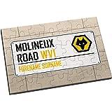 Official PERSONALISED Wolverhampton Wanderers Wolves Way Football 2 Pack Car Window Sunshade