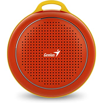 Genius SP-906BT Bluetooth Speakers with Mic (Red)