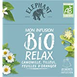 Elephant Bio Infusion Relax Camomille Tilleul 20 Sachets 26g