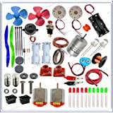 PGSA2Z™ Brain Experimental Activity Kit 65 Items in A Kit Items Loose Parts Materials Science Project Kit.( Multi Color)