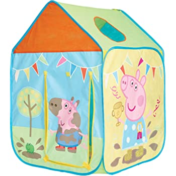GetGo 156PGG01E Peppa Pig Wendy House Playhouse - Pop Up Role Play Tent
