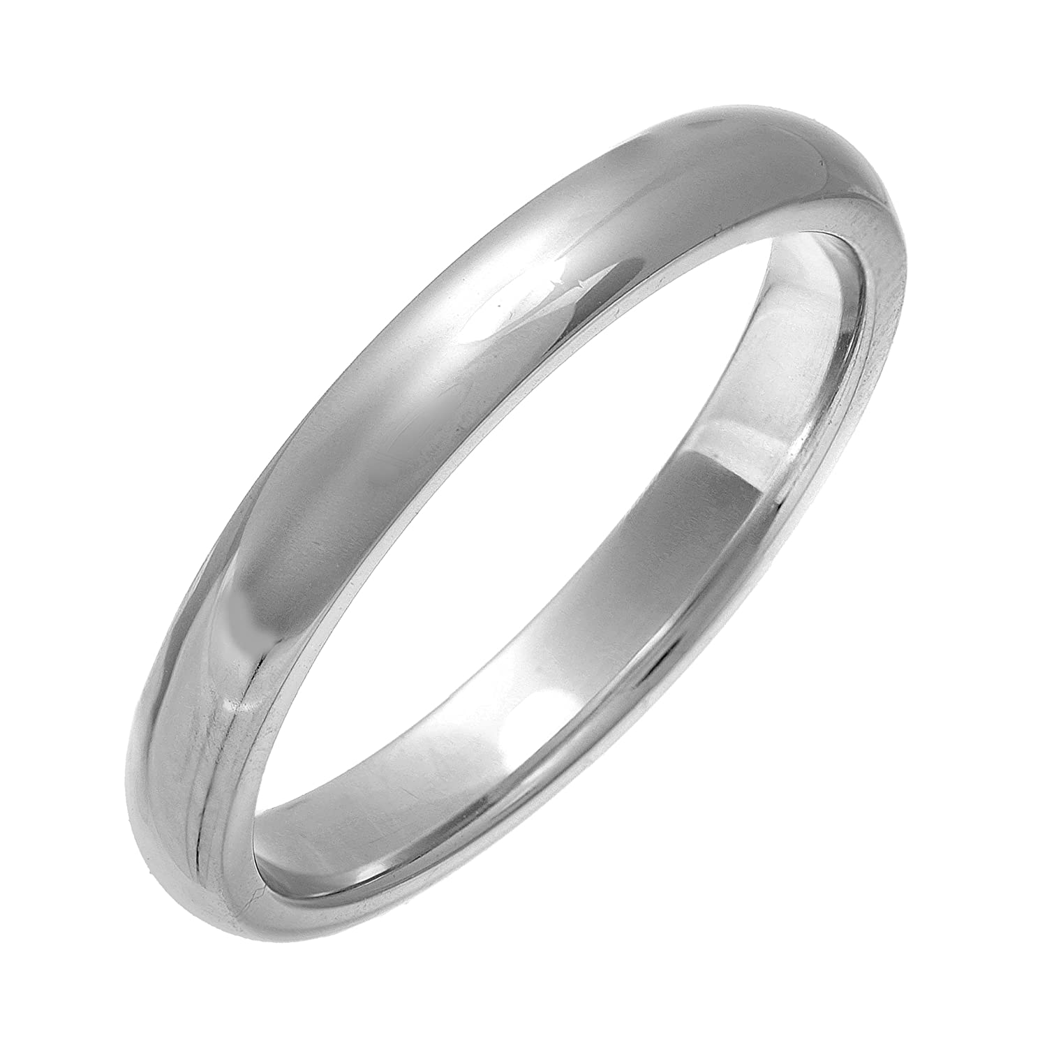 theia uni sterling silver super heavy court shape wedding ring