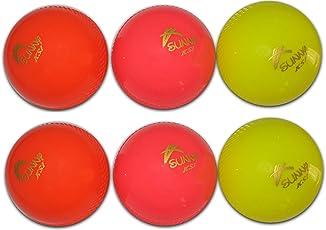 Sunny KSI Cricket Wind Ball Set Of 6 Pcs