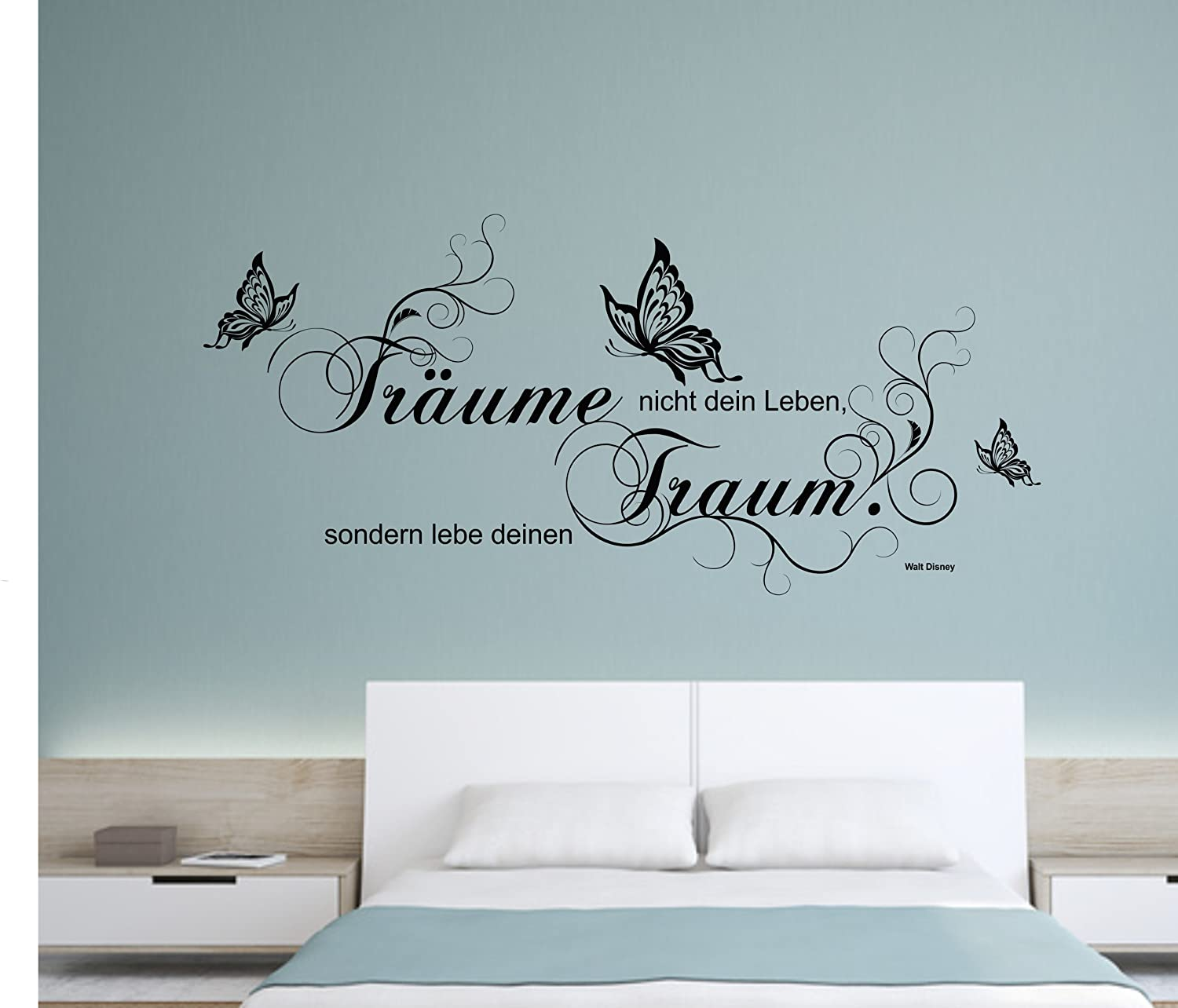 disney zitate wandtattoo reuniecollegenoetsele. Black Bedroom Furniture Sets. Home Design Ideas