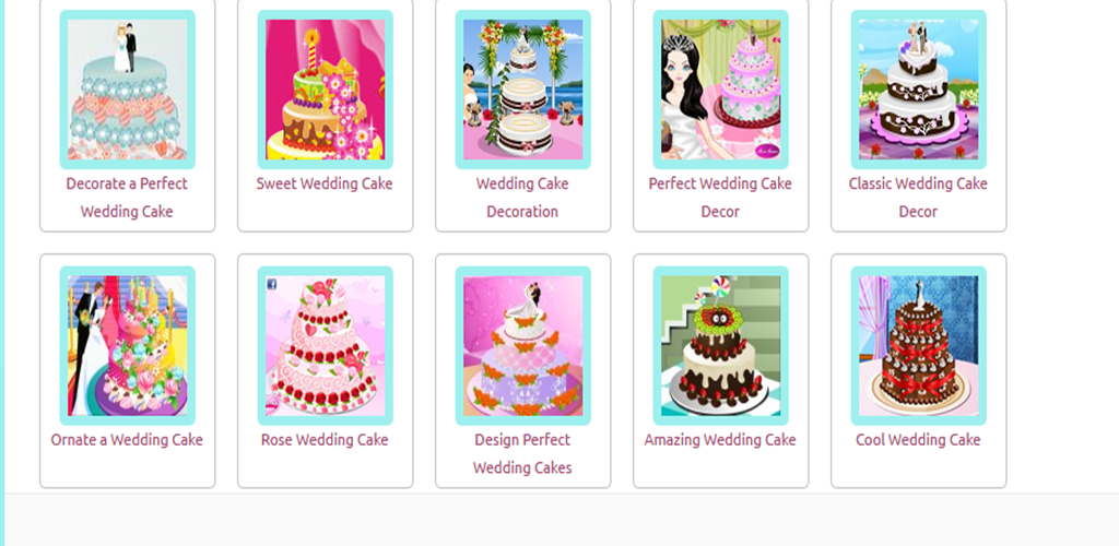 Bake and decor wedding cakes appstore for for Amazon wedding decorations